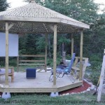 Gazebo of a house in Halifax area
