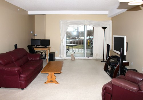 Living and Balcony area of 50 NELSONS LANDING BOULEVARD #117, BEDFORD, Halifax Area
